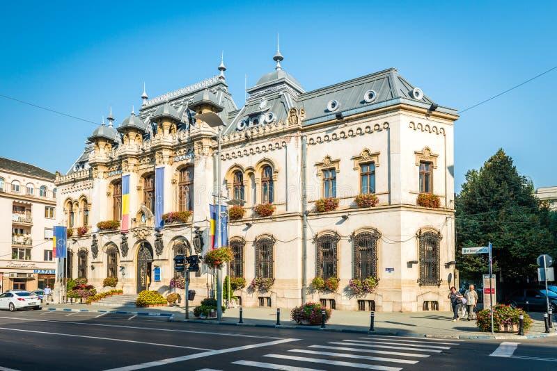Ayuntamiento, Rumania Craiova fotografía de archivo libre de regalías