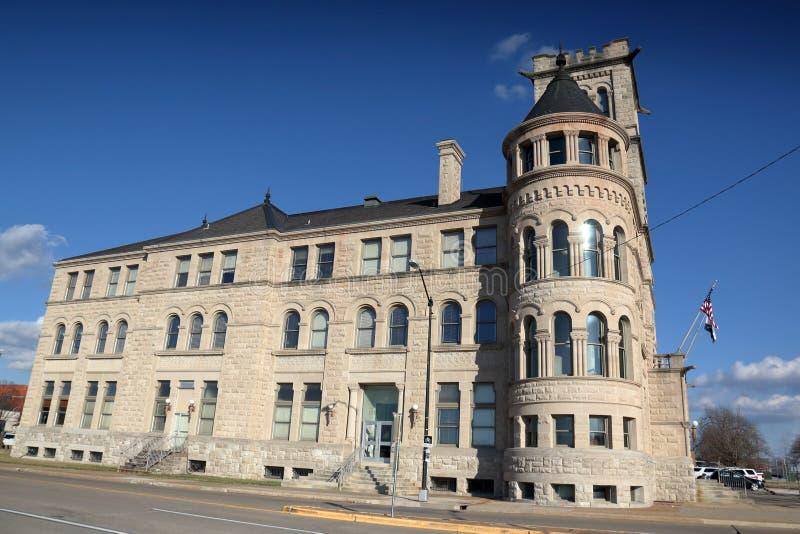 Ayuntamiento, Springfield, MO foto de archivo libre de regalías