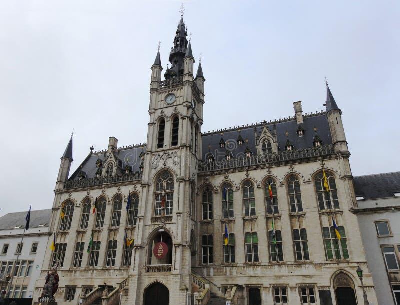 Ayuntamiento - St Niklaas - Bélgica fotografía de archivo libre de regalías