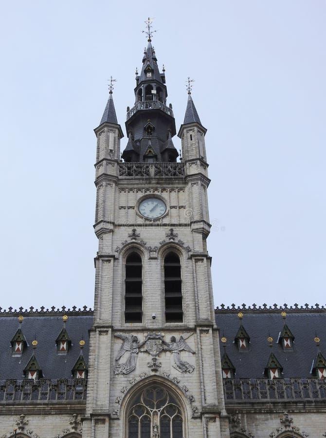 Ayuntamiento - St Niklaas - Bélgica imagen de archivo