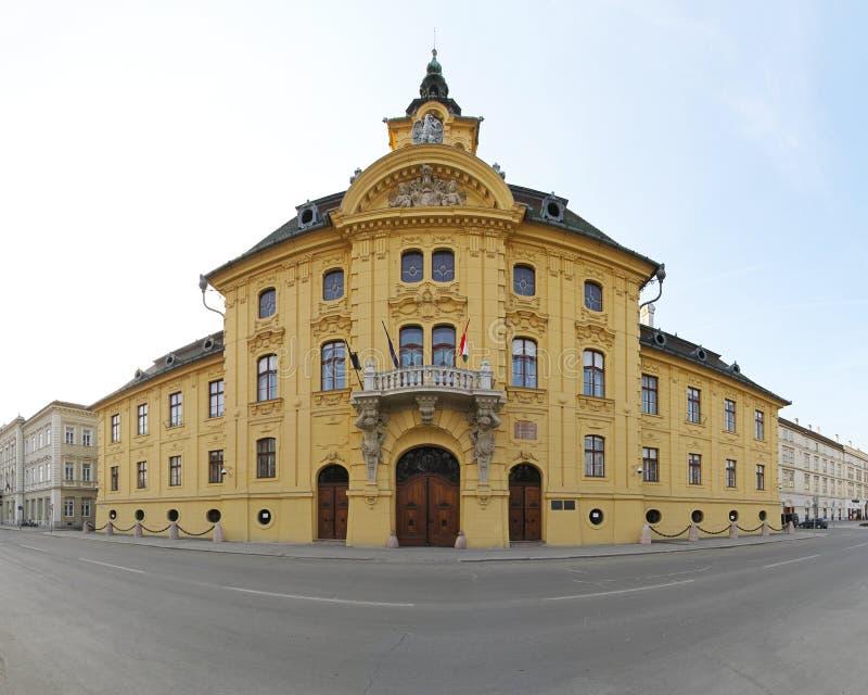 Ayuntamiento Szeged foto de archivo libre de regalías