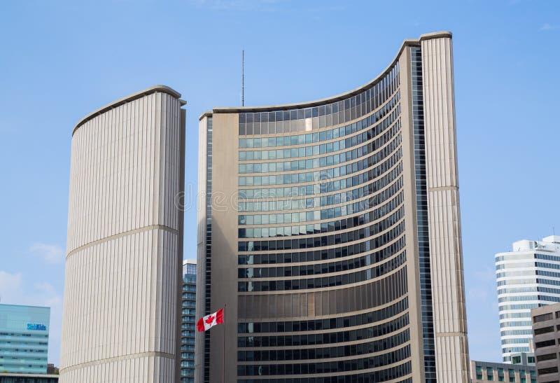 Ayuntamiento Toronto imagenes de archivo