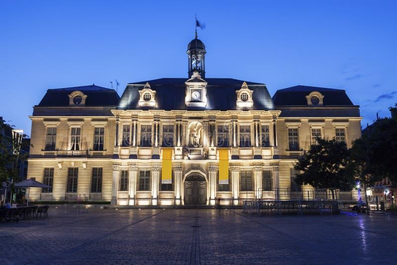 Ayuntamiento Troyes fotografía de archivo