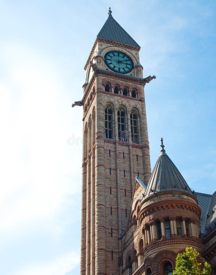 Ayuntamiento viejo de Toronto imagen de archivo