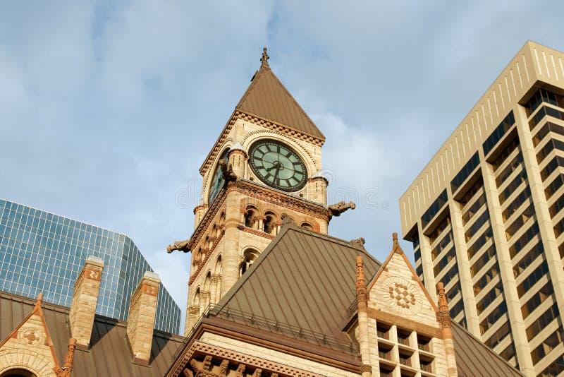 Ayuntamiento viejo de Toronto imagenes de archivo