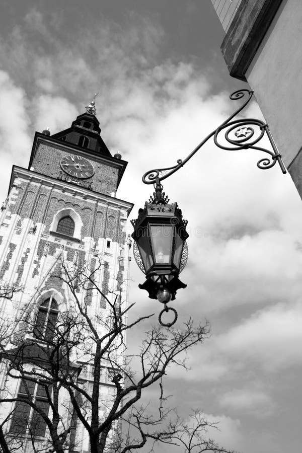 Ayuntamiento viejo en Cracovia, Kraków, Polonia, Europa fotografía de archivo