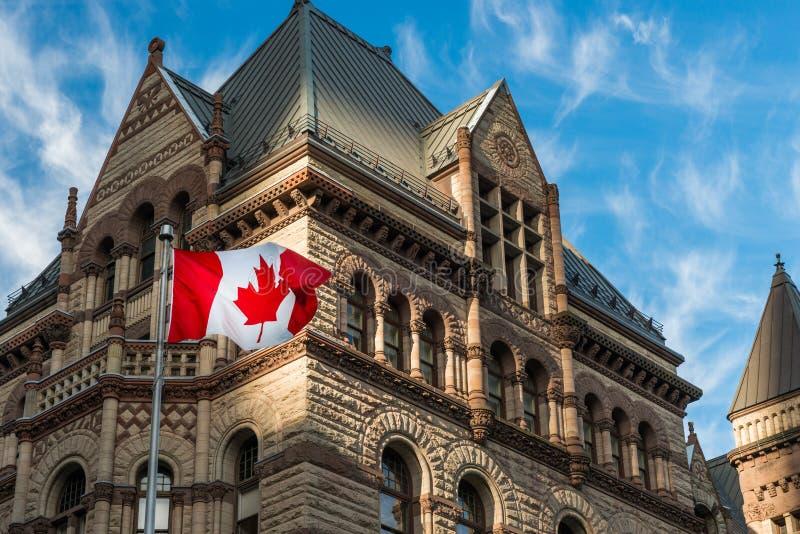 Ayuntamiento viejo en Toronto fotografía de archivo libre de regalías
