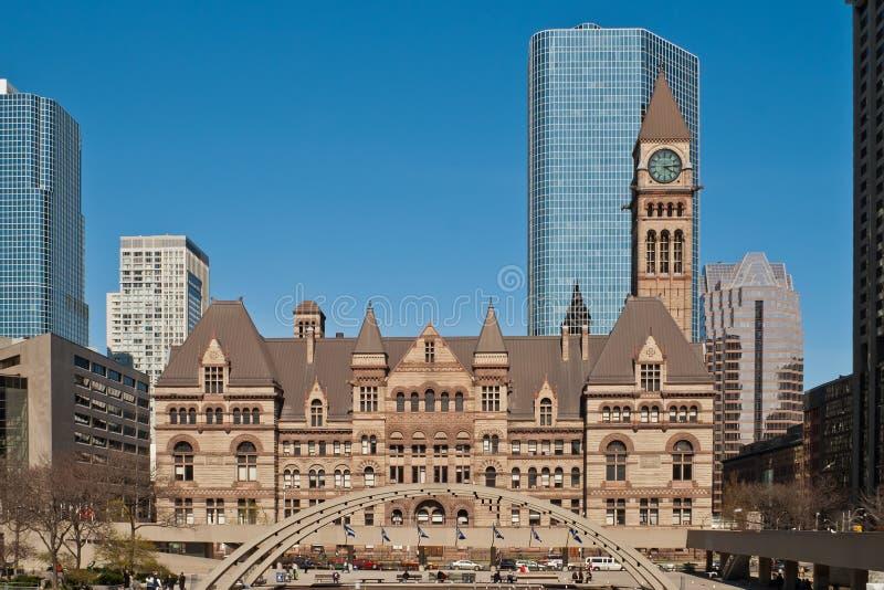 Ayuntamiento viejo en Toronto, Ontario, Canadá imagenes de archivo