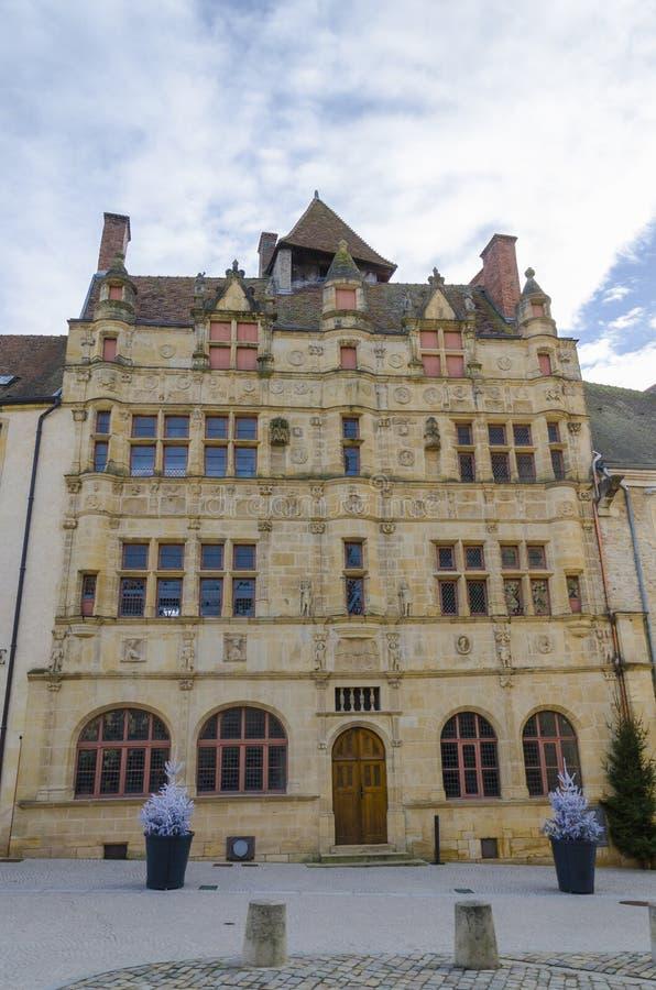 Ayuntamiento viejo, Paray-le-Monial, Francia, Borgoña fotos de archivo libres de regalías