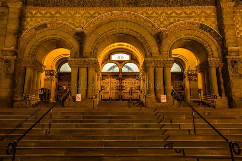 Ayuntamiento viejo, Toronto imagenes de archivo