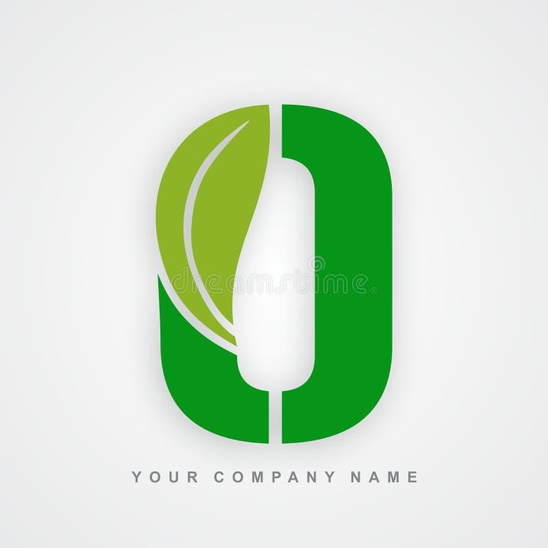 Ayurveda, ambiente ou letra orgânica o do logotipo ilustração do vetor