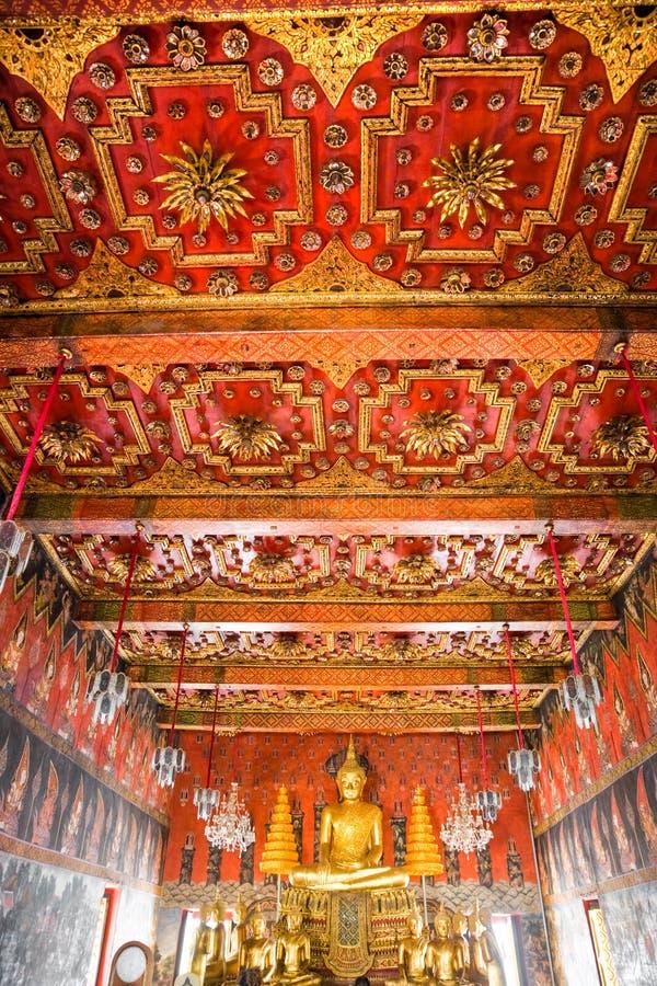 ayuthaya佛教寺庙泰国 免版税图库摄影