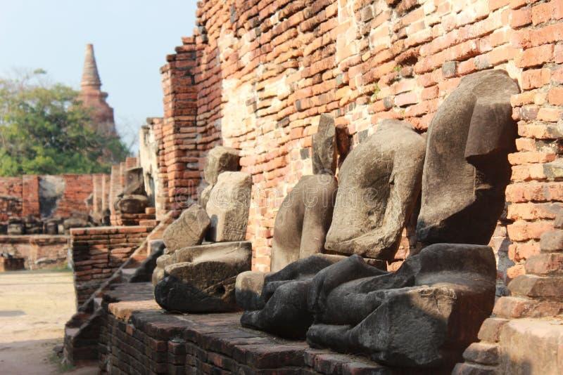 ayutthaya泰国 免版税库存图片