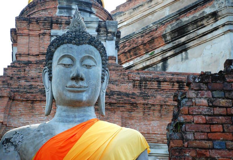 ayutthaya Βούδας Ταϊλάνδη στοκ φωτογραφία