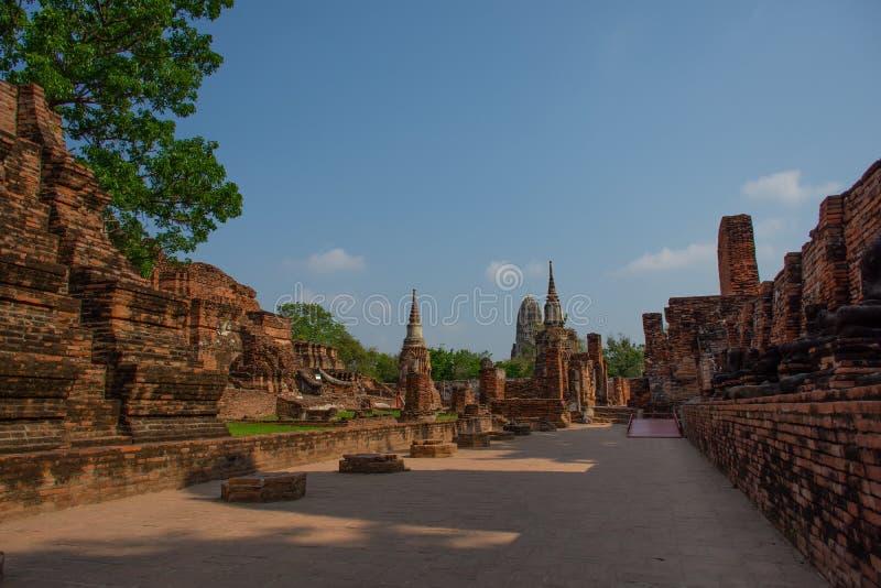 Ayutthaya, древний город Thailan стоковое фото rf