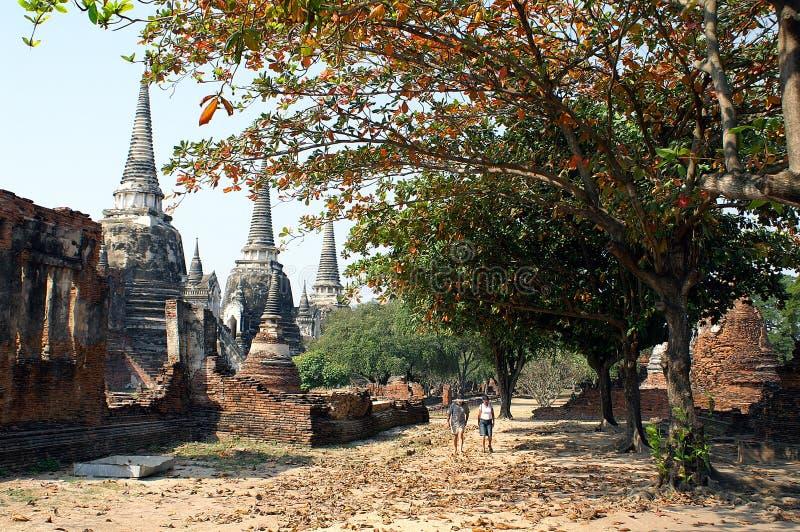 Ayutthaya royalty-vrije stock afbeelding