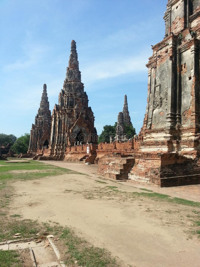 Ayutthaya fotos de archivo libres de regalías