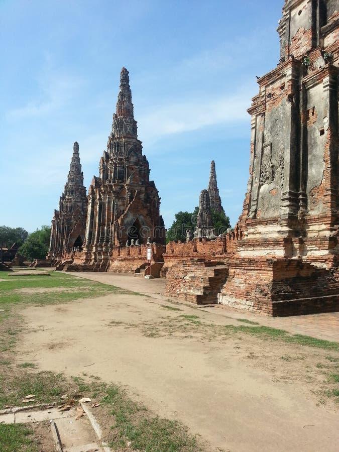 Ayutthaya lizenzfreie stockfotos