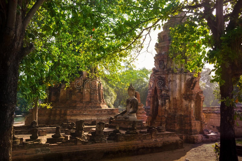 Ayutthaya стоковые фотографии rf