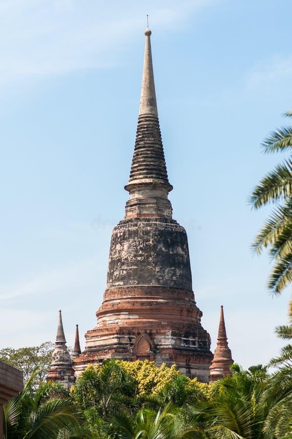 Ayutthaya obraz royalty free