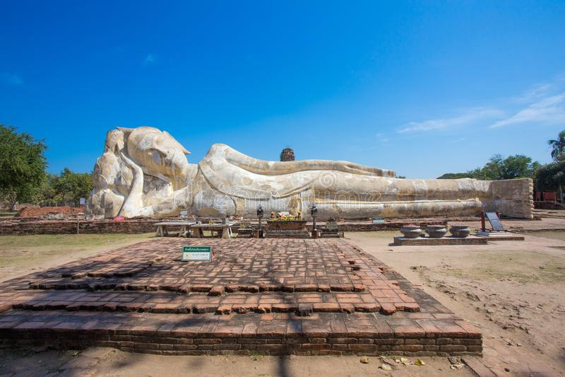 Ayutthaya ancient capital of thailand. Ruins and archaeological park tailand stock photography
