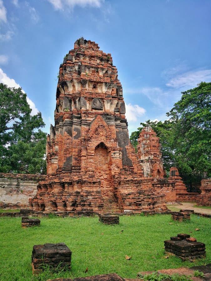 Ayutthaya, Ancient ruins, Old Capital, Bangkok, Thailand royalty free stock images