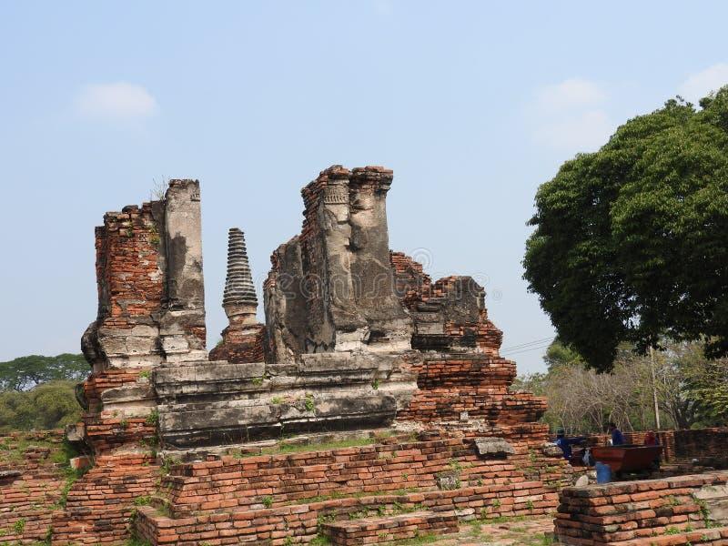 Ayutthaya capital of the Kingdom of Siam stock photos