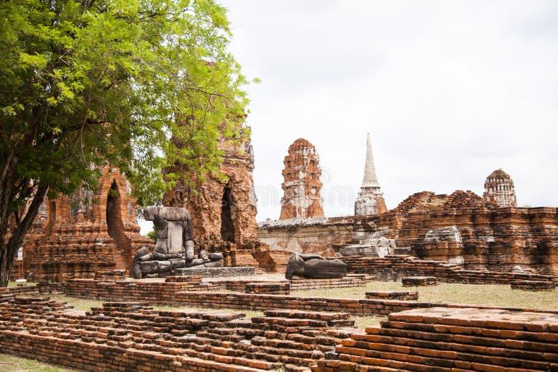 Ayutthaya - de historische hoofdstad van Thailand royalty-vrije stock fotografie
