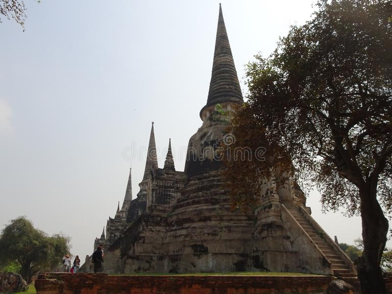 Ayutthaya capital of the Kingdom of Siam royalty free stock images