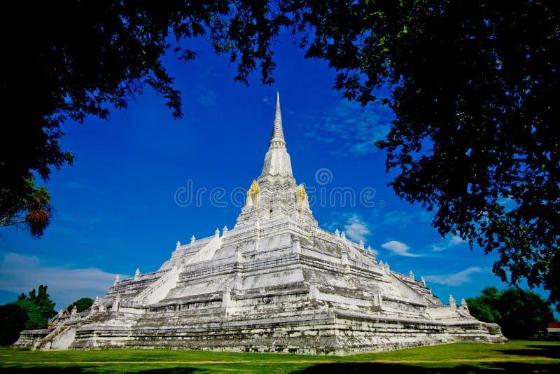 Ayutthaya historischer Park in Thailand stockfoto