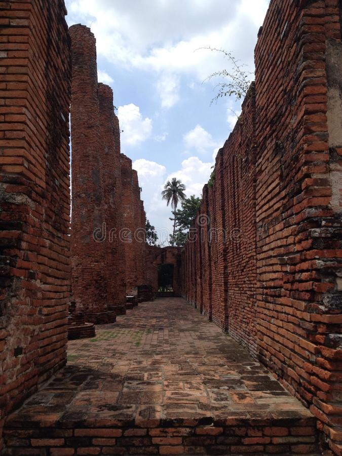 Ayutthaya 1, o patrimônio mundial imagem de stock royalty free