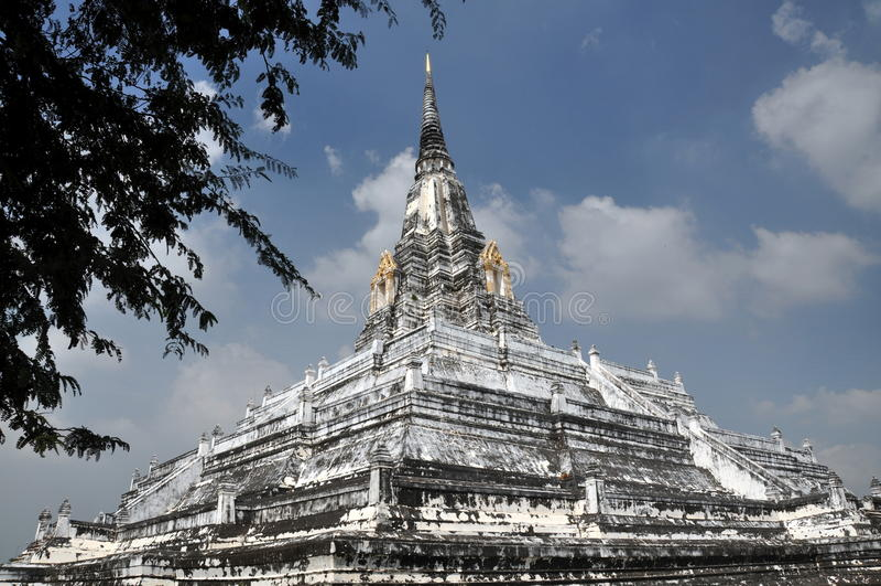 Ayutthaya, Tailândia: Wat Phu Khao fotografia de stock royalty free