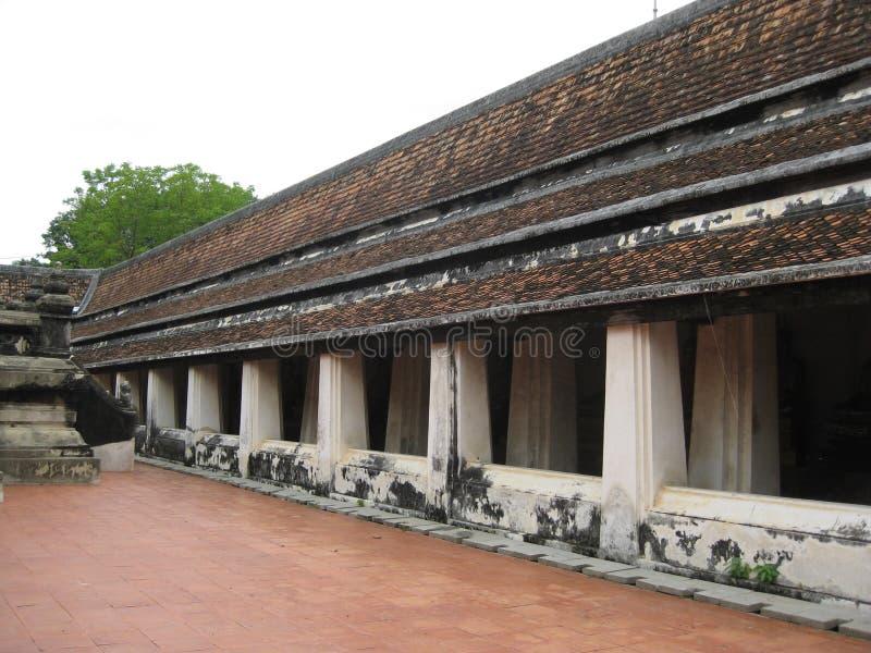 Ayutthaya_temple_thailand royaltyfria foton