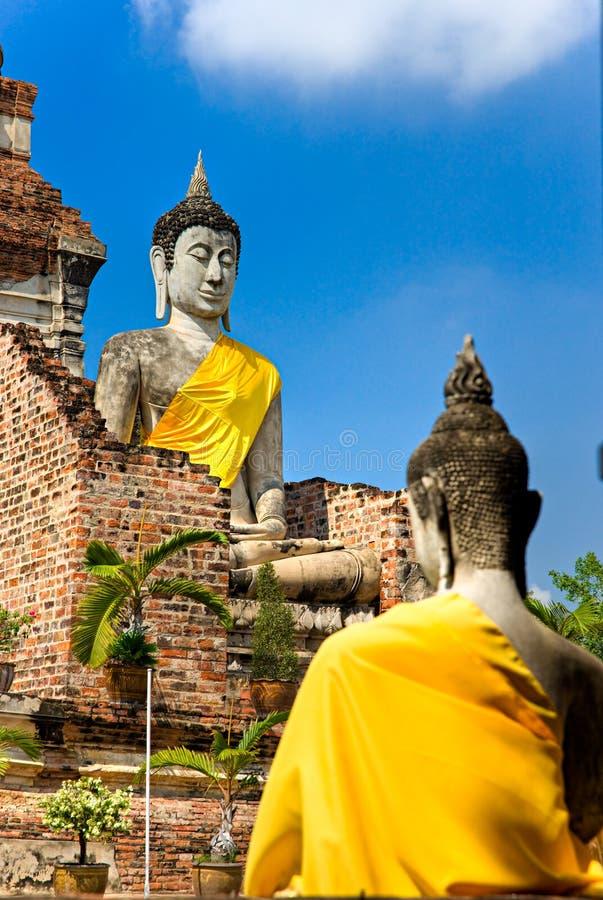 Ayutthaya, Thailand, stockfoto