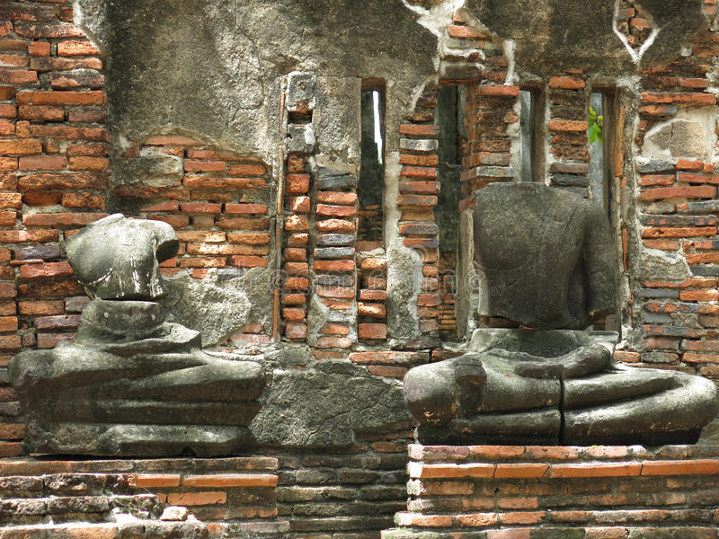 Ayutthaya, Thailand stock afbeelding