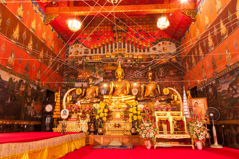 Download AYUTTHAYA,THAILAND-JUNE 27, 2013:Wat Phanan Choeng. Editorial Stock Photo - Image of gold, place: 33334888