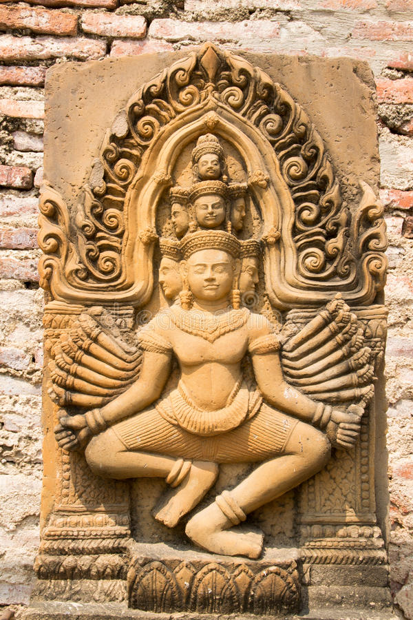Download Cambodian Statue stock image. Image of asia, cambodian - 29925369