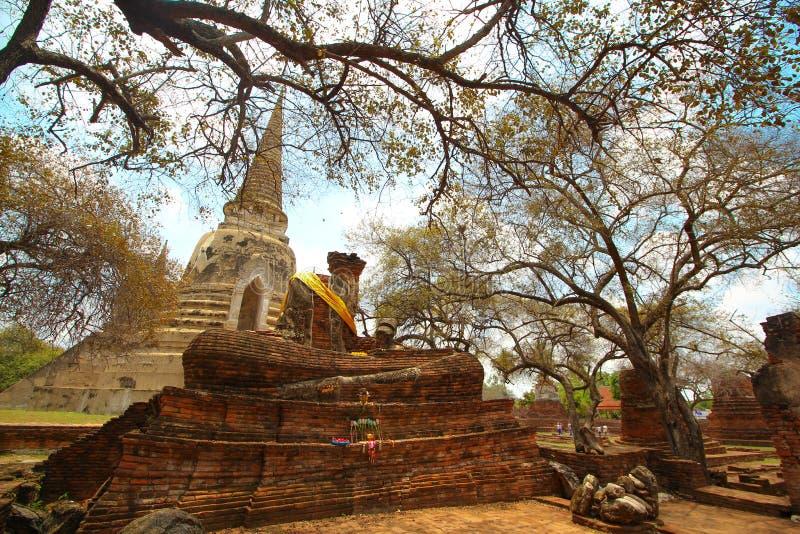 Ayutthaya trip royalty free stock photos