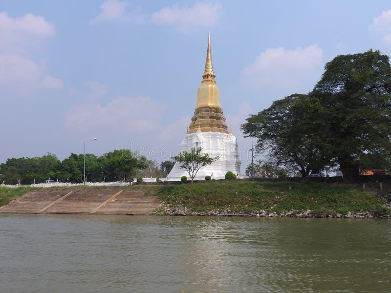 Ayutthayakapitaal van het Koninkrijk van Siam royalty-vrije stock foto