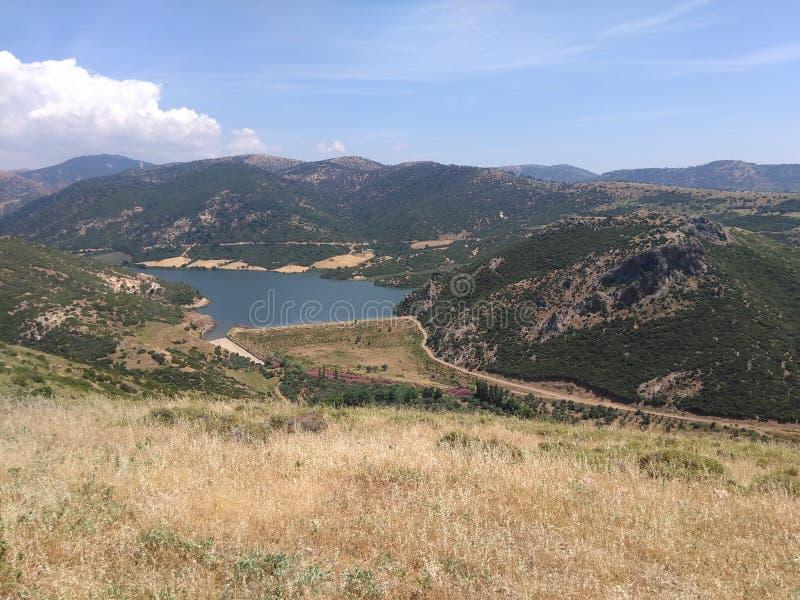 Ayvacik, morze egejskie teren kosedere wioska Turcja, lato 2019 obrazy royalty free