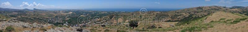 Ayvacik, morze egejskie teren kosedere wioska Turcja, lato 2019 zdjęcie stock