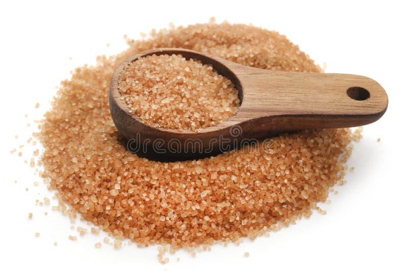 Azúcar de Brown imagen de archivo libre de regalías