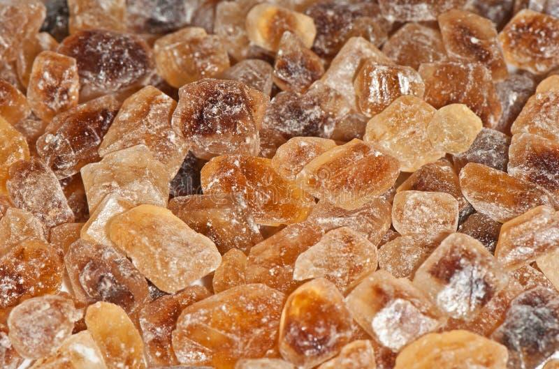Azúcar de caña de Brown imagenes de archivo