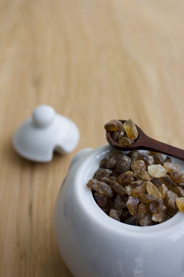 Azúcar de la roca imágenes de archivo libres de regalías