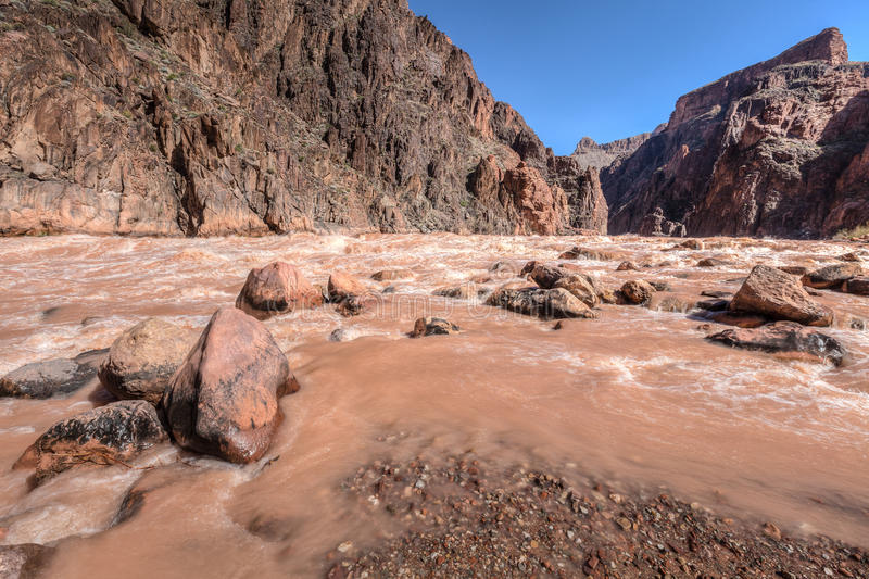 AZ-Grand Canyon National Park-Tonto Trail west to Monument stock photography