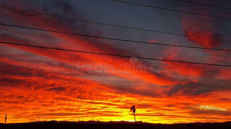 Az Havasu Sun Sets royalty free stock image