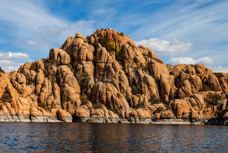 AZ-Prescott-Granite Dells-Watson Lake. AZ-Granite Dells-Prescott-Watson Lake. This image was taken while sailing on Watson Lake stock photography