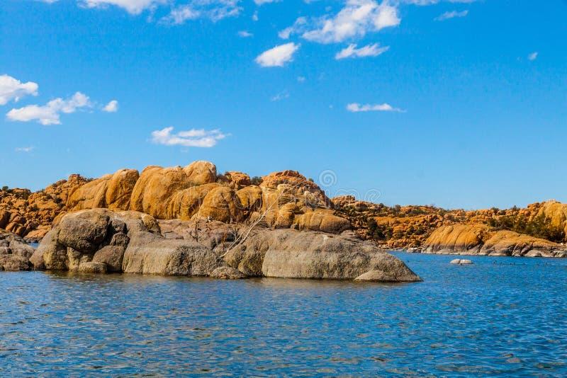 AZ-Prescott-Granite Dells-Watson Lake. AZ-Granite Dells-Prescott-Watson Lake. This image was taken while sailing on Watson Lake royalty free stock images
