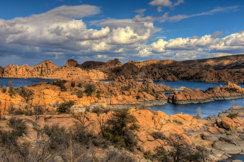 AZ-Prescott-Watson Lake Dells royalty free stock photo