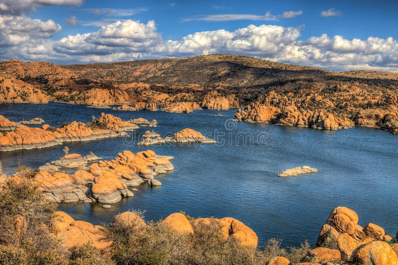 AZ-Prescott-Watson Lake Dells royalty free stock photography